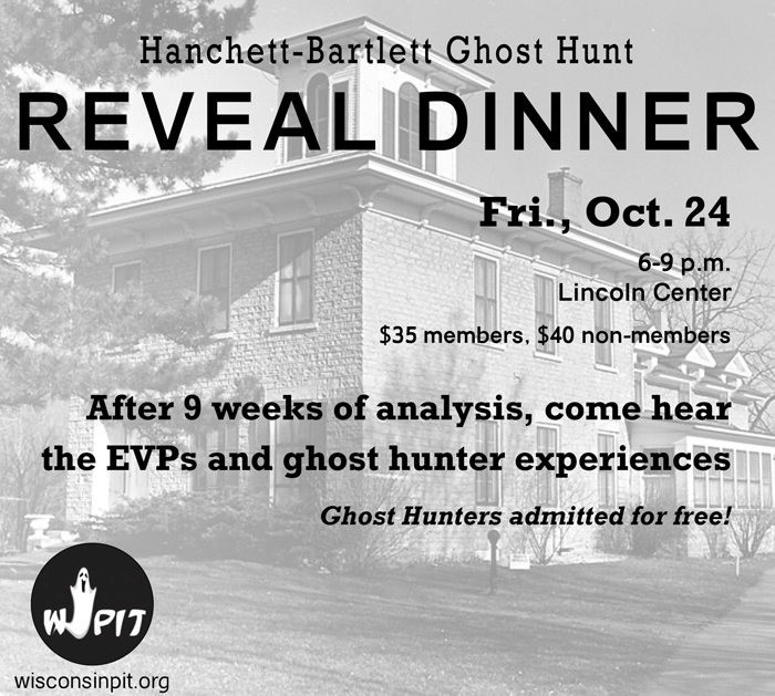 Ghost Hunt Reveal Dinner